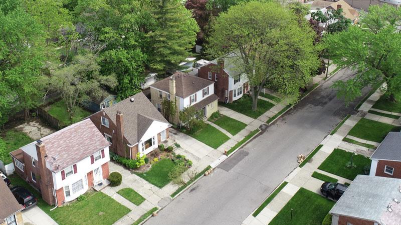 homes in Detroit