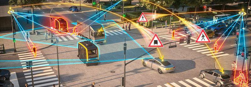 smart infrastructure illustration