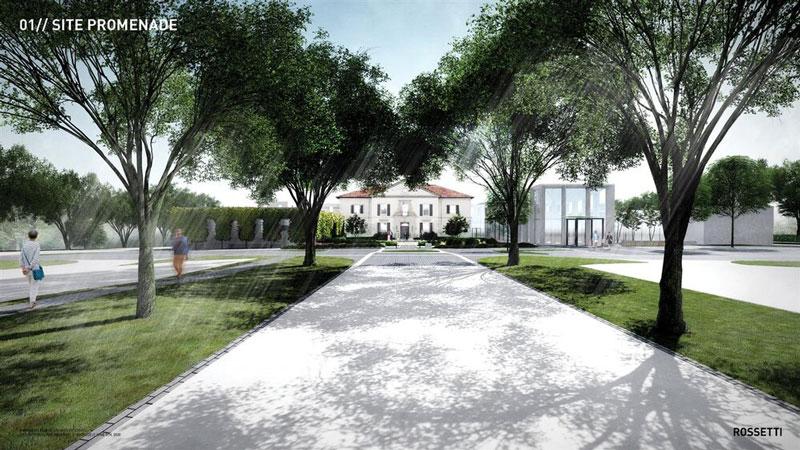 War Memorial event facility rendering