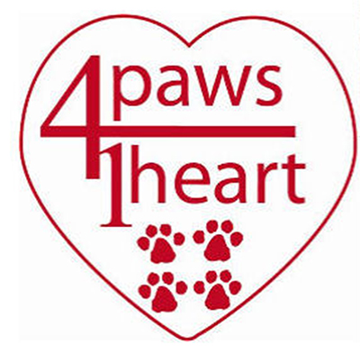 4 Paws 1 Heart logo