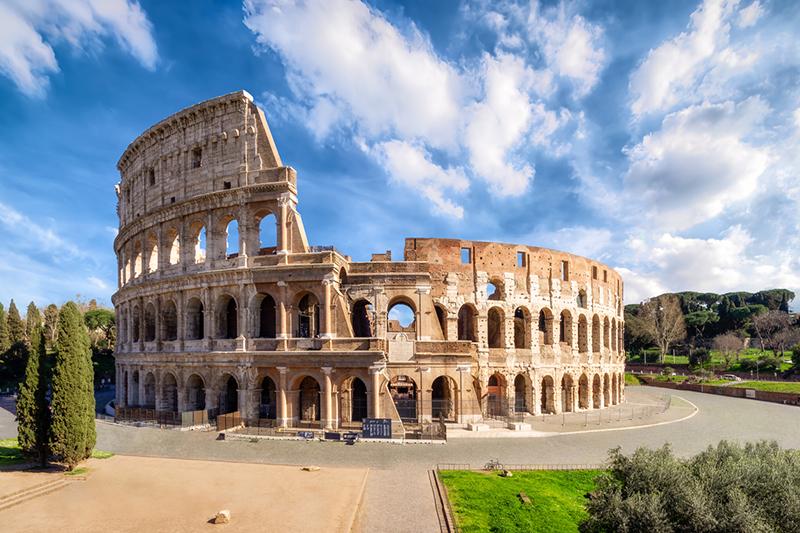the roman colleseum