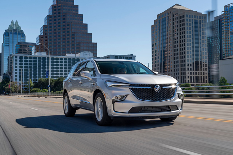 2022 Buick Enclave driving