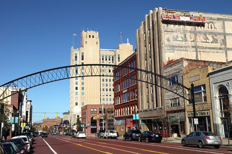 Downtown Flint Business District