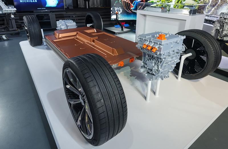 GMs Ultium battery model