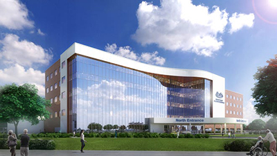 rendering of new addition to Henry Ford Macomb