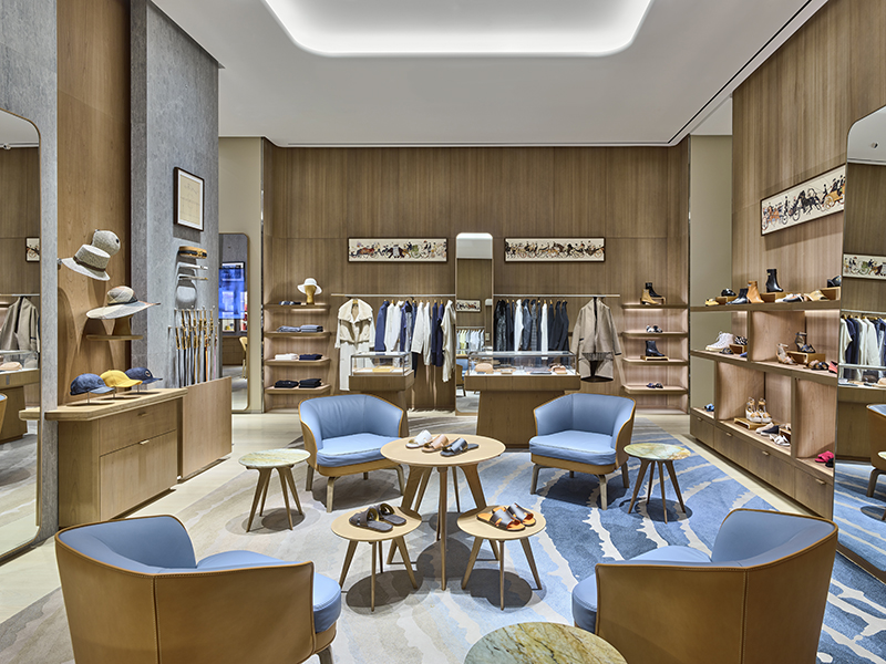 Interior of Hermes at Somerset South