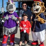 Lancelot (Mascot), Michael Quagliotto, Logan Quagliotto, Buzz (Mascot)