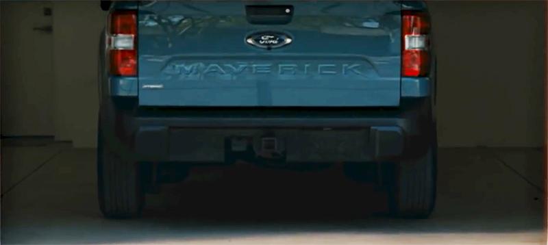 Ford maverick rear liftgate