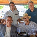 Standing - Mike Cairns, Steve Skoglin; Seated - Nick Contesti, Gary Roncelli.
