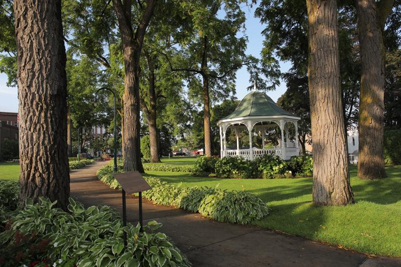 Hemingway Park in Petoskey Michigan