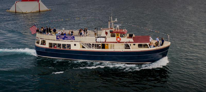 The isle Royale queen III cruising
