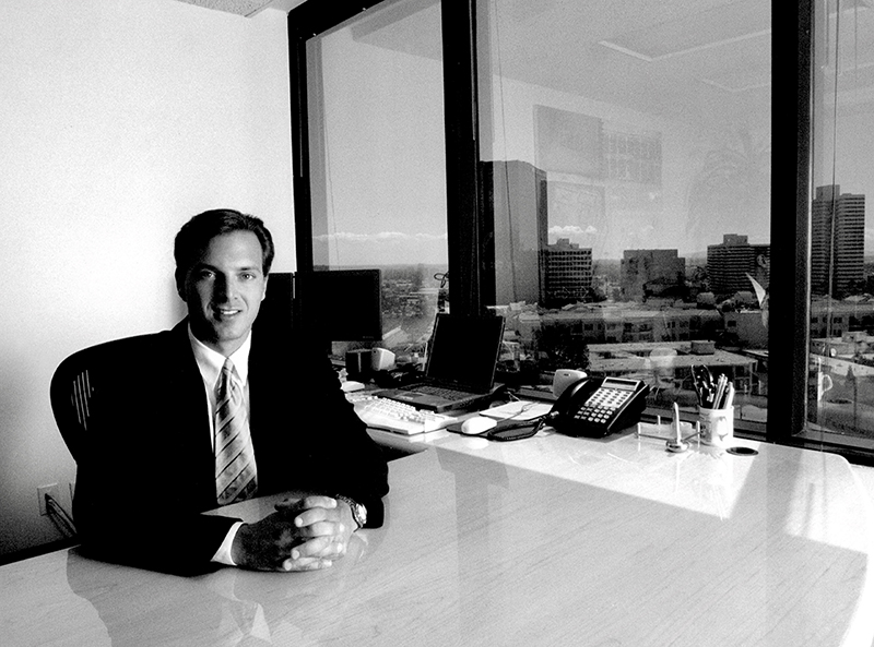 Life's a Beach - A serial entrepreneur, Randy Kaplan grew up in Southfield and Birmingham before heading west to make his mark in multiple industries. // Courtesy of Randy Kaplan