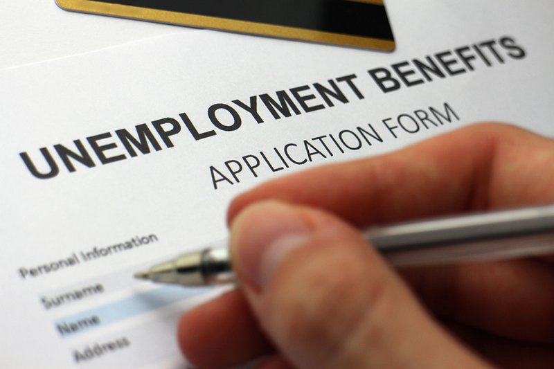 Signing up for unemployment insurance