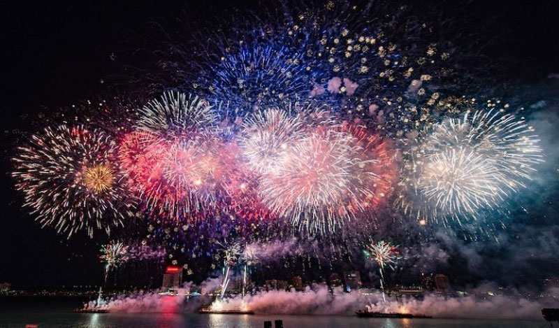 The 2021 Ford Fireworks will once again be a broadcast-only event on June 28. // File photo