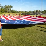 Variety Kids and Parents Presenting the Flag during the National Anthem