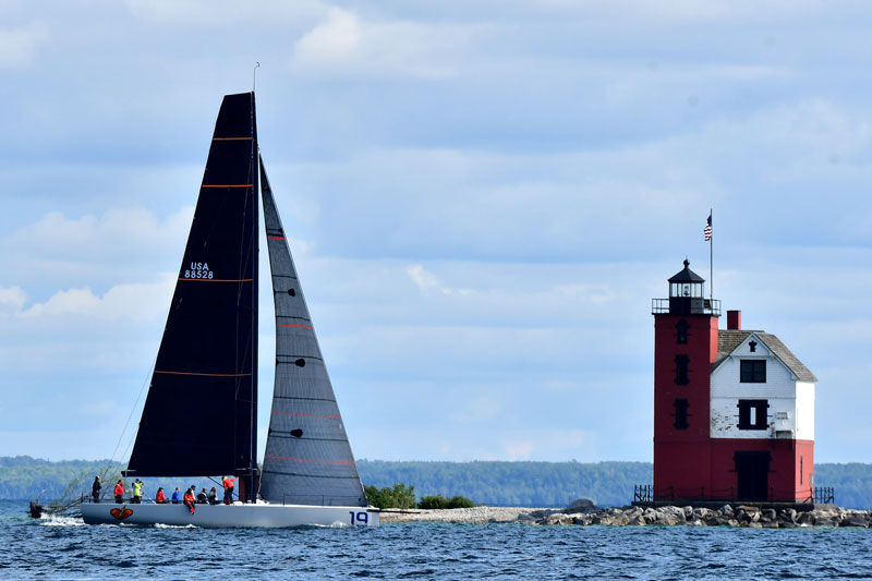 The 97th running of the Bayview Mackinac Race sets sail on Saturday off Port Huron. // Courtesy of Bayview Yacht Club