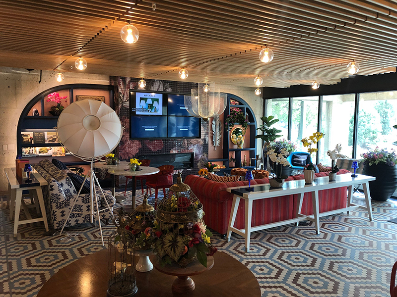 The lobby of the newly redeveloped City Club Apartments Lafayette Park. // Courtesy of City Club Apartments