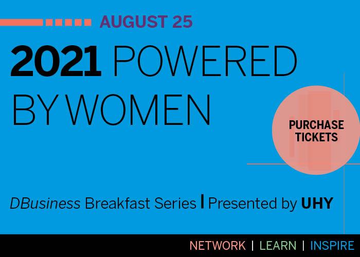 Powered By Women Breakfast Ad