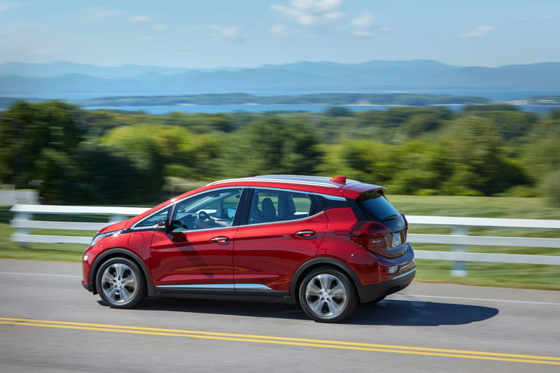 Affordable EVs like the 2020 Bolt EUV (pictured) are key to GM's plan to help every community benefit from the move to EVs. // Photo courtesy of GM