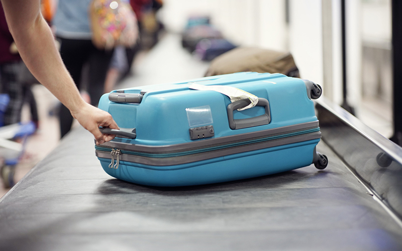 Grab My Bag has launched its luggage delivery service, where travelers can get their baggage delivered to them from baggage claim. // Stock Photo
