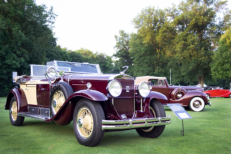 The Hagerty Concours d'Elegance of America features various classic cars to be viewed and judged. // Courtesy of Hagerty