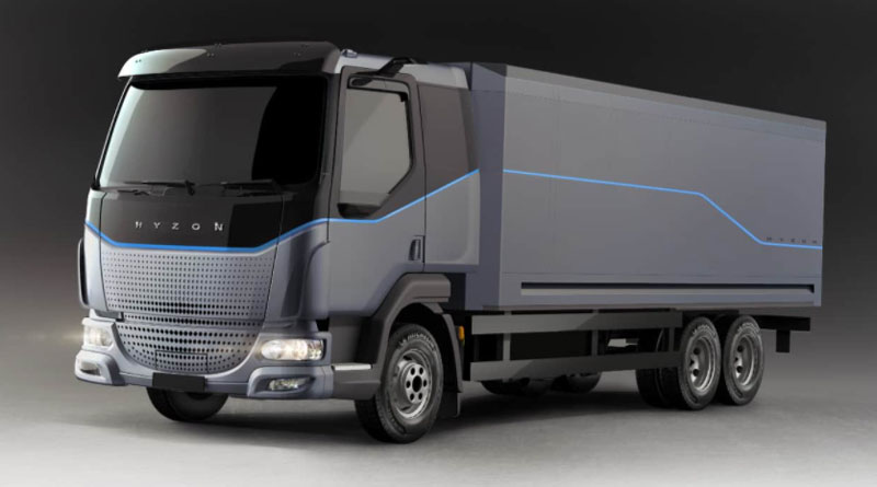 Hyzon Motors Inc. has signed an agreement with RenewH2 to collaborate on the production and distribution of liquid hydrogen fuel for commercial vehicles. // Courtesy of Hyzon Motors