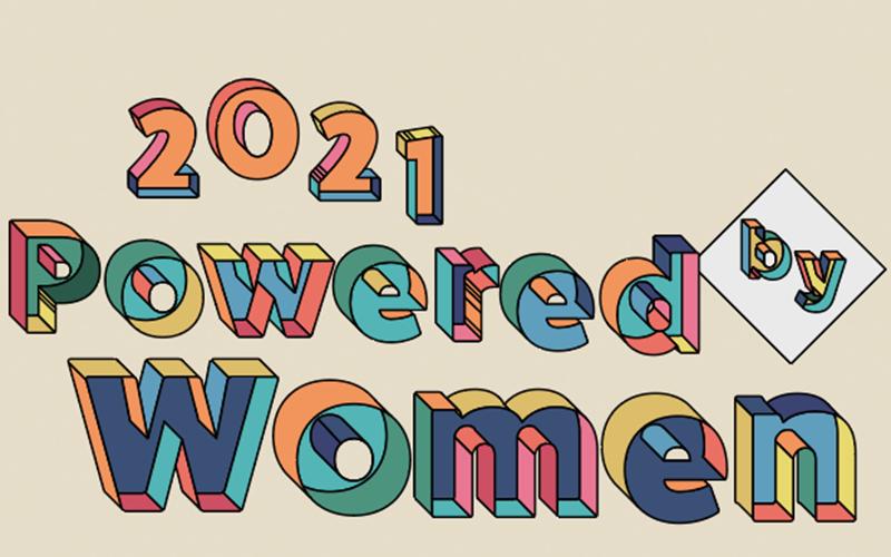 2021 Powered by Women Logo