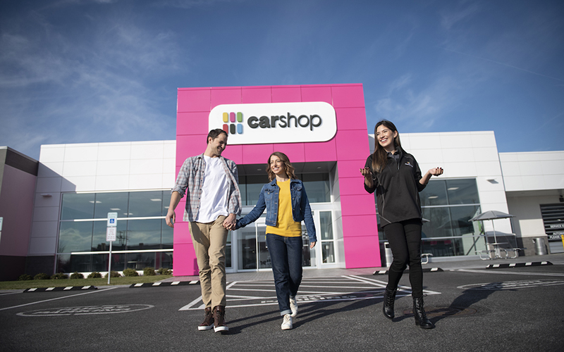 Penske Automotive Group and Cox Automotive have announced a fully automated platform for online used vehicle sales through PAG's CarShop vehicle supercenters and franchised dealerships. // Courtesy of CarShop