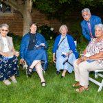 Sr. Janice Rushman, Sr. Mary Carol, Sr. Rose Kern, Greg Spinazze, Beth Labadie
