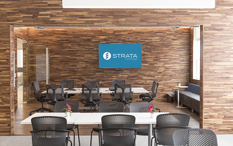 Strata Oncology in Ann Arbor, a company specializing in advancing molecular indications for cancer therapies, announced the completion of a $90 million Series C financing round. // Courtesy of Strata Oncology