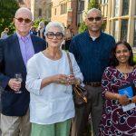 Ted and Magda Moss, Sri and Usha Srivatsavan