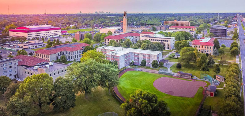 UDM Campus from above