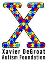 Xavier DeGroat Autism Foundation logo