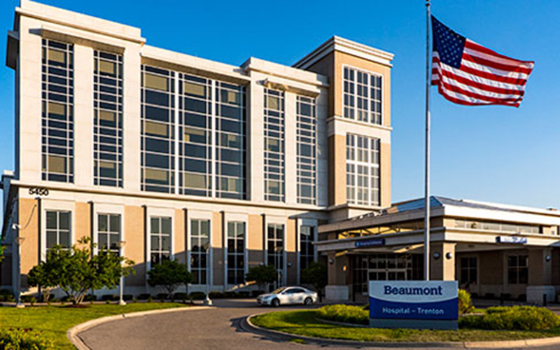 Beaumont Health has opened its fifth Lung Nodule Clinic at Beaumont Hospital, Trenton. // Photo courtesy of Beaumont Health