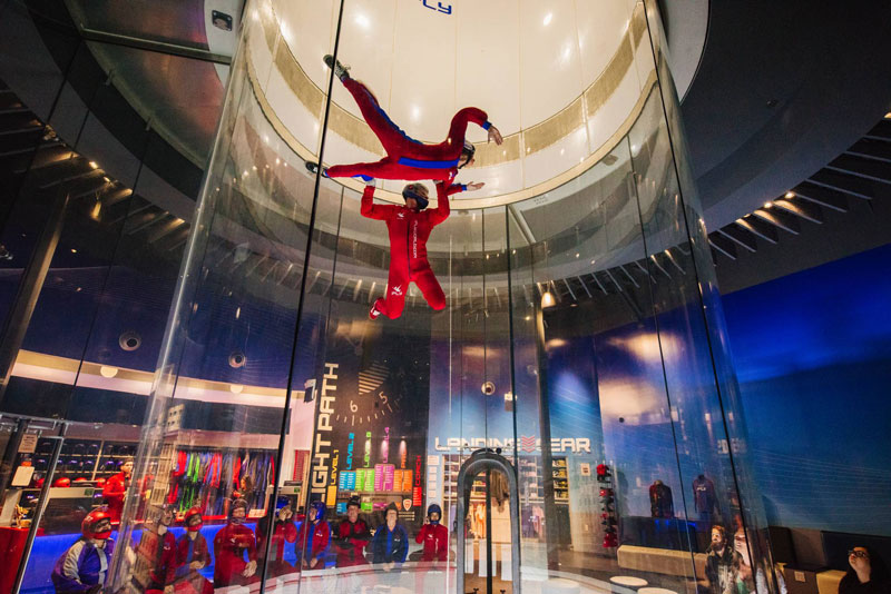The iFLY World indoor skydiving complex is opening July 24 in Novi. // Courtesy of iFLY World