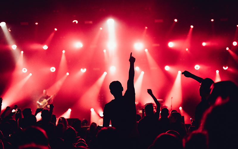 Mixhalo, an audio company that allows fans to connect directly to venue soundboards to stream live audio through an app on their phones, and 313 presents have partnered to bring the technology to Detroit. // Stock Photo