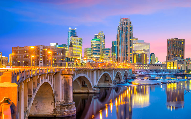 Detroit-based First Independence Bank is planning to open a branch in Minneapolis, Minn. (pictured). // Stock photo
