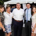 Grace Lopez, Jacqueline and Rick Gagliano, Rick and Alyssa Gagliano