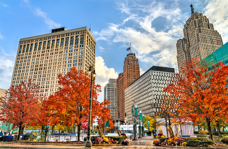 A new Global Detroit study shows immigrants can help revitalize areas in the city that have seen hard times. // Stock Photo