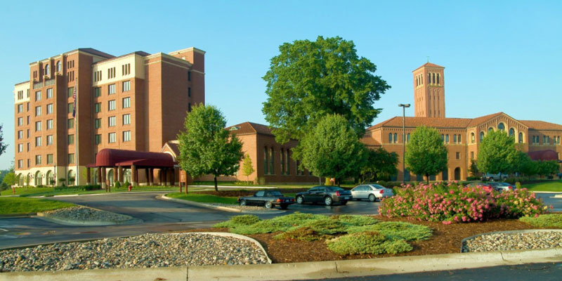 Pulte Family Management SJ has purchased The Inn at St. John's in Plymouth Township from the Archdiocese of Detroit. // Courtesy of The Inn at St. John's
