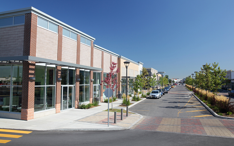 Modern Commercial Avenue