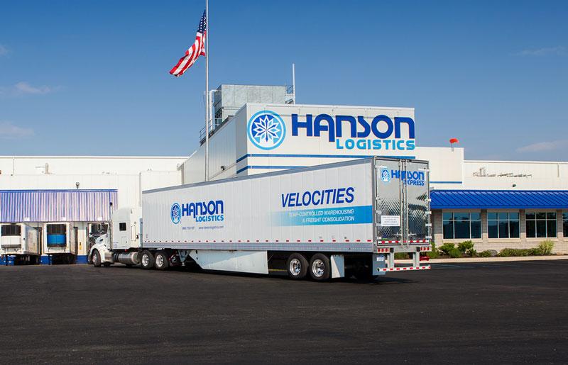 Novi's Lineage Logistics has acquired Hanson Logistics and its seven facilities in Michigan and Indiana. // Courtesy of Hanson Logistics
