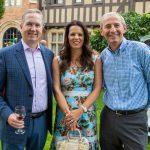 Peter and Stephanie Schwartz, David Arnould
