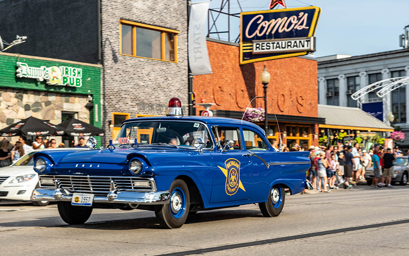 Memory Lane - The Woodward Dream Cruise is one of many classic car events making their return, or debuts, in the summer and fall. // Courtesy of the City of Ferndale