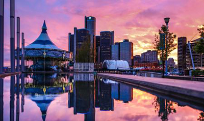 Riverfront Reunion is the theme of Detroit Riverfront Conservancy's Shimmer on the River fundraiser, Sept. 17. // Courtesy of Detroit Riverfront Conservancy