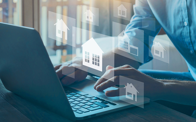 Rocket Homes in Detroit announced today it has brought all of its home buying and selling tools to one customizable digital platform. // Stock Photo
