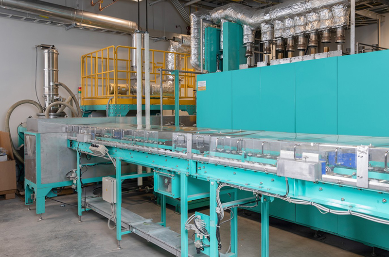 A battery resourcers lithium ion battery recycling pilot facility
