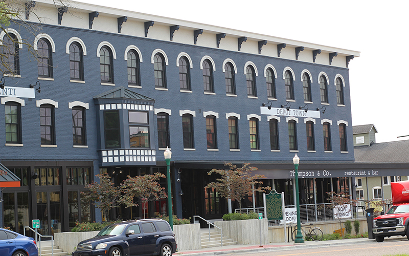 Thompson & Co., a southern inspired restaurant and bar, will open in Ypsilanti's Depot Town, which was recently opened after a five year restoration. // Courtesy of Thompson & Co.