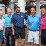 Tom Celani, Rod Alberts, Bryan Johnson, Tony Michaels, Tom Pierce