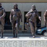 Tuskegee Airmen- Capt. Wendell O. Pruitt, Lt. Andrew Maples, Lt. John A. Gipson, Lt. Milton Hall